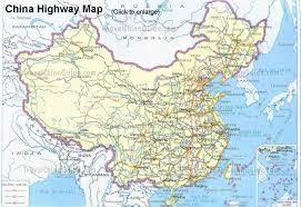 china highway maps  travelchinaguidecom