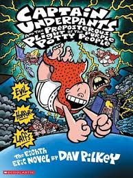 captain underpants and the preposterous plight of the purple potty people captain underpants series book