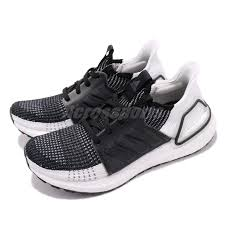 Details About Adidas Ultraboost 19 W Black Grey White Women Running Shoes Sneakers B75879