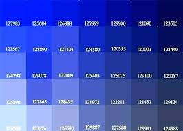 shades of blue paint samples blue paint chart color shades and names turquoise cyan shade scale shades of blue paint