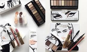 kristina bazan x l oreal makeup collection