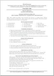 Sample Dentist Resume resume Dental Resume Sample 46