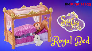 Sofia The First Bedroom Disney Sofia The First Doll And Royal Bedroom Playset Toy Review