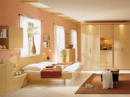 Orange Paint Colors For Bedrooms Peach Colour On Sitting Room Wall Bhg Color A Room Paint Colors