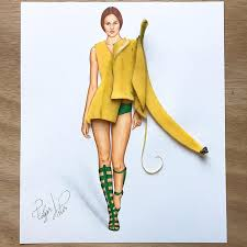 Fashion Illustrations Playfully Combine Found Objects To Create