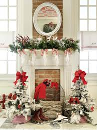 Touch Of Nature Holiday Decor Roomboastsbeautifulchristmas Christmas Fireplace Mantel