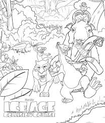Small Picture Kids n funcom 7 coloring pages of Ice age collision course