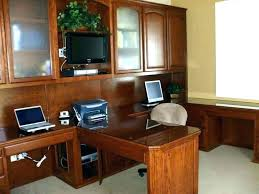 home office with two desks. Interesting Home Dual Desk Home Office 2 Person Work Desks For  Computers   And Home Office With Two Desks