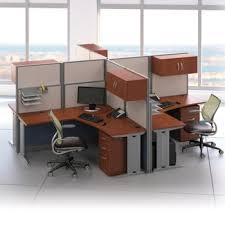office desk workstation. Individual Workstations Shown Next To Each Other Office Desk Workstation L