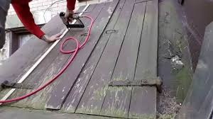 Lattice to seal up basement doors - YouTube