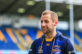 Rob Burrow to watch Challenge Cup final at home   Love Rugby League