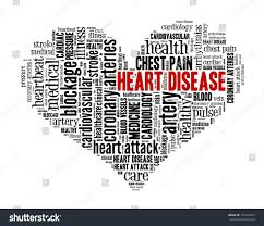 Heart Disease Word Collage Stock Illustration Royalty Free Stock