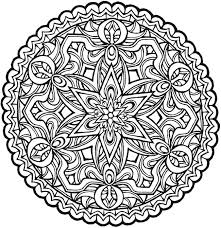 Small Picture Mandala Coloring Book For Grown Ups Coloring Pages