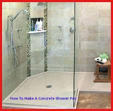 build a custom shower building shower pan attractive custom shower pan regarding porcelain base glass building