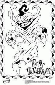 Small Picture Halloween Coloring Pages Monsters Coloring Pages