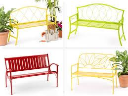 Hummingbird Metal Garden Bench  Benches U0026 ChairsGarden Metal Bench