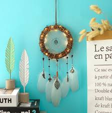 50cm led hot feather bali dream