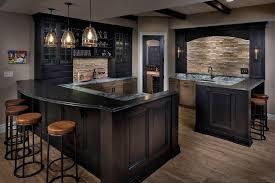 wet bar lighting. Transitional Basement With Exposed Beam, Hardwood Floors, Wall Sconce Wet Bar Lighting E