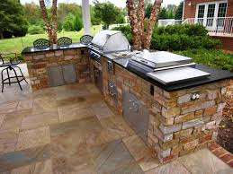 Outdoor Kitchen Metal Frame Build Outdoor Kitchen How To Manage It Properly
