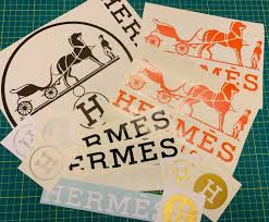 Designer Brand Logo Stickers Hermes Sticker Grab Bags Stickers Book Design