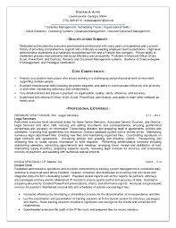 Chic Good Administrative Assistant Resume With Administrative