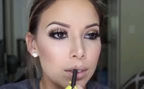 bronze smokey eyes wedding makeup tutorial
