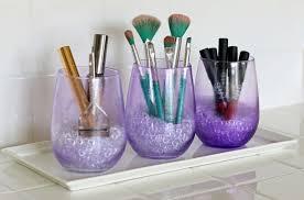 Purple Bathroom Bin 11 Beautifully Easy Makeup Storage And Organizing Ideas