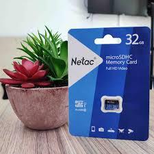 Thẻ nhớ Netac P500 microSDHC/microSDXC 32GB