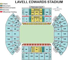 Lavell Edwards Stadium Byu Tickets