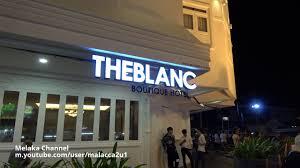 33 Boutique Hotel Theblanc Boutique Hotel 26 28 Jalan Kubu Jonker Walk Melaka Tel