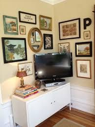tv in corner
