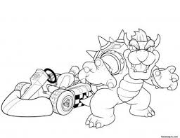 Printable Super Mario And Bowser Coloring Pages Printable Coloring