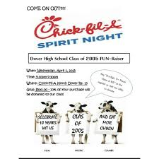 Fundraising Flyer Sample Chick Fil A Fundraiser Flyer Template Answerlytics Com
