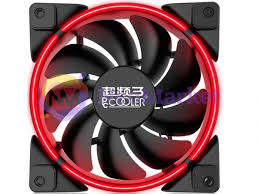 <b>Вентилятор PCcooler Corona 120mm</b> Red, цена 30 руб., купить ...