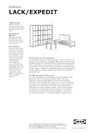 Lack En Expedit Series By Ikea Catalog Issuu