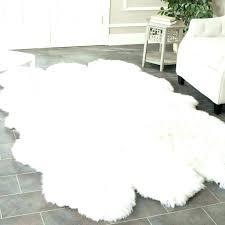 animal skin rugs fake rug light brown fur area sheepskin blankets black bear for fake bear skin rug
