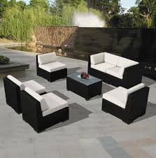 Beautiful Outdoor Patio Wicker Furniture Sofa Dining and Chaise