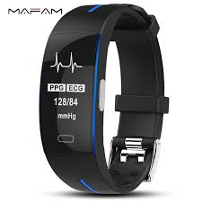 P3 ECG PPG <b>Smart Band Watch Bracelet</b> Blood Pressure Heart ...