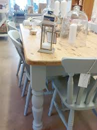 Pine Kitchen Tables And Chairs Hand Painted Farmhouse Table And Chairs Custom Order Home