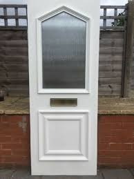 upvc infil door card obscure toughened glass above 655mm w 1770 mm h can deliver