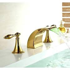 gold bathroom faucet. Gold Bathroom Faucet Unique For Finish Bathtub Long Handle 62 Delta