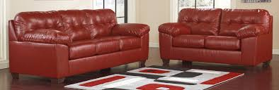 Sofa Amusing Ashley Furniture Red Leather Sofa Excellent By