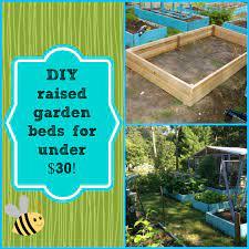 diy super easy raised garden bed for