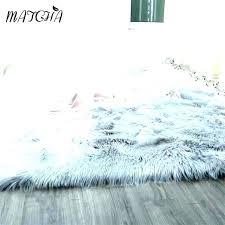 faux fur furniture white sheepskin area rugs best rug ideas on canada fu