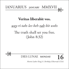latin phrase a day 2017 desk calendar