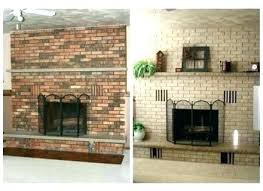 red brick fireplace ideas photo 8 of best painting