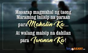 Tagalog Love Quotes Unique New Tagalog Love Quotes Boy Banat