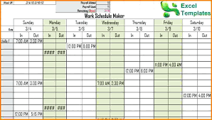 Free Daily Schedule Template Daily Routine Free Daily Planner