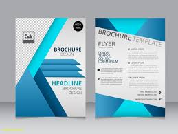 Pamplet Templates Business Pamphlet Templates Free Save Pany Brochure Template Free