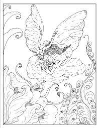 Fantasy Coloring Pages Elf Coloringstar
